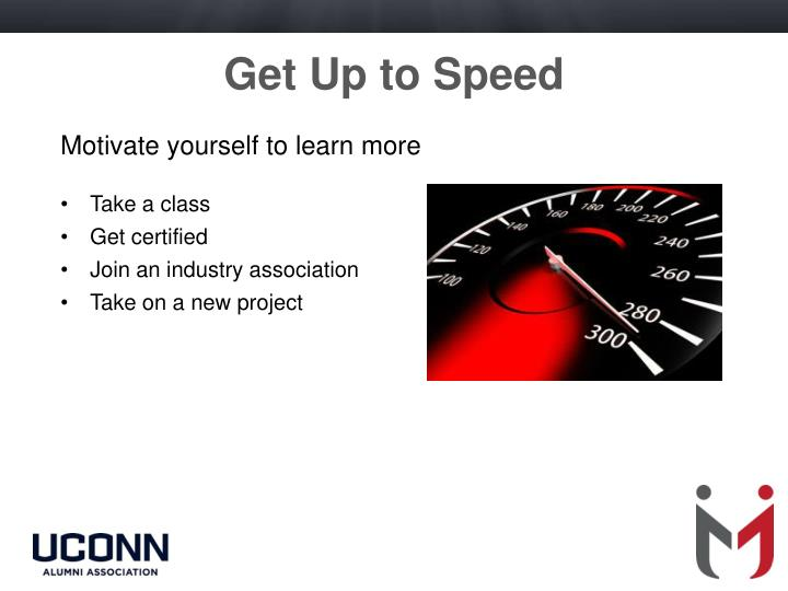 Get Up to Speed