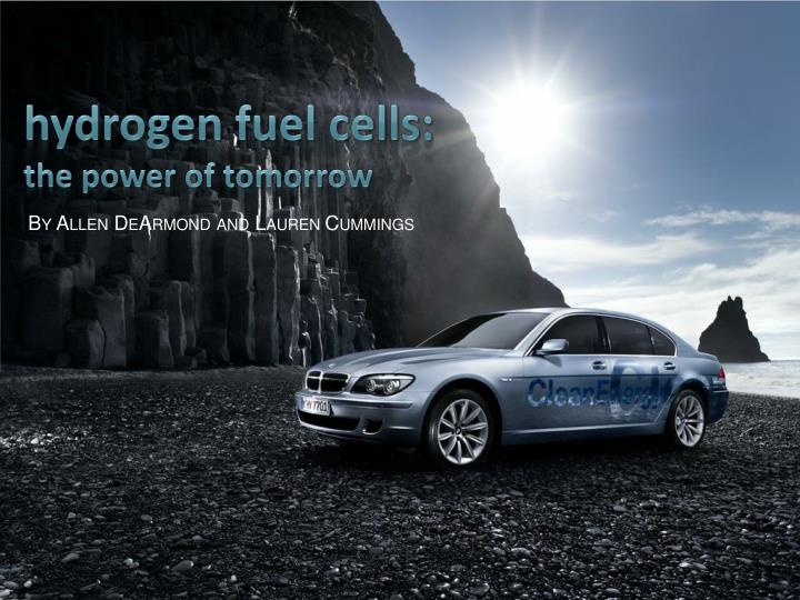 hydrogen fuel cells the power of tomorrow n.
