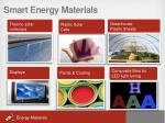 smart energy materials