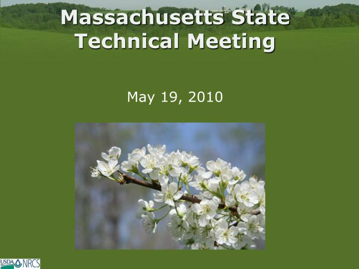 massachusetts state technical meeting n.