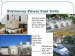 stationary power fuel cells