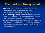 thermal heat management