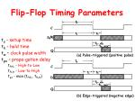 flip flop timing parameters