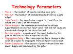 technology parameters