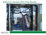 efficiency vermont rtu pilot results