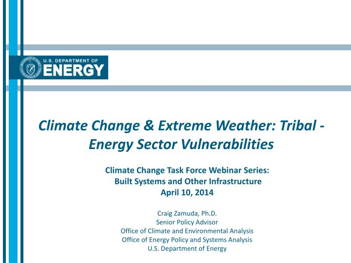 climate change extreme weather tribal energy sector vulnerabilities n.