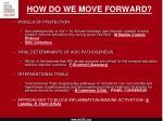 how do we move forward