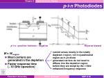 p i n photodiodes