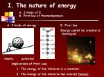 i the nature of energy