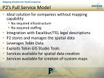 p2 s full service model