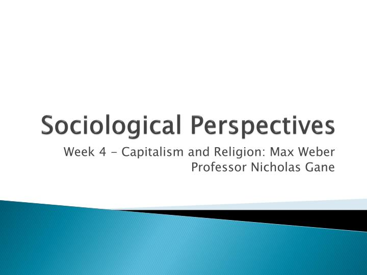 sociological perspectives n.