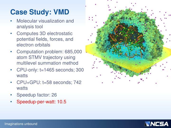 Case Study: VMD