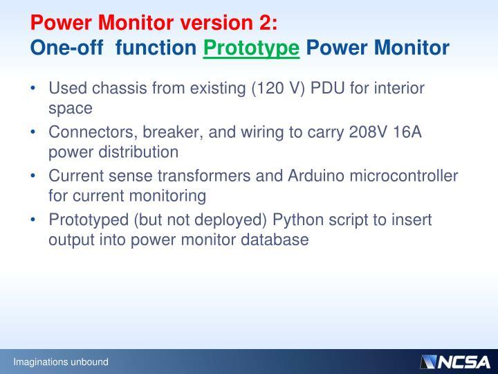 Power Monitor version 2: