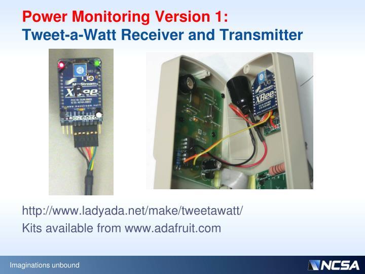 Power Monitoring Version 1: