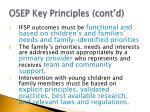 osep key principles cont d