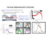 the field funneling effect solutions1