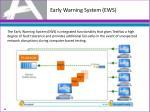 early warning system ews