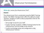 infrastructure trial introduction2