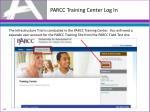 parcc training center log in