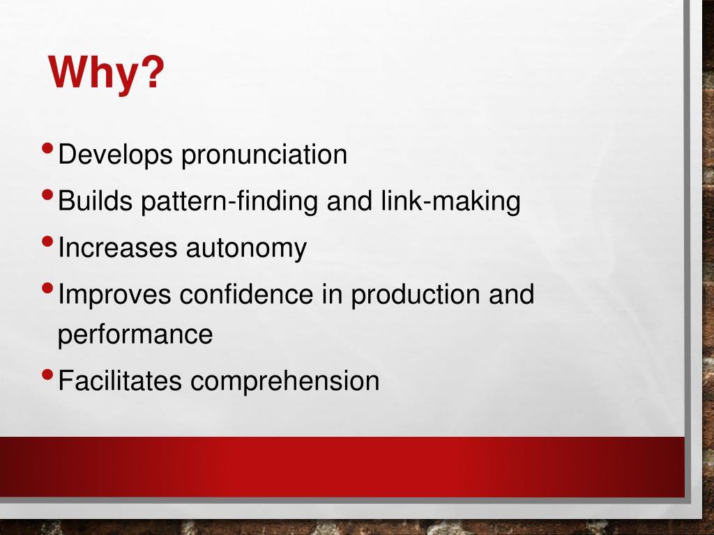 PPT - PHonics PowerPoint Presentation - ID:1590428