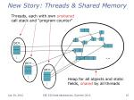 new story threads shared memory