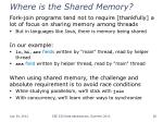 where is the shared memory
