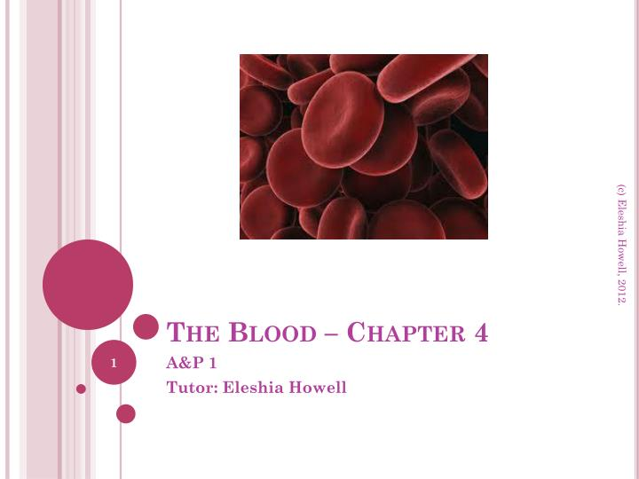 The blood chapter 4