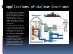 applications of nuclear reactions