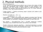 2 physical methods