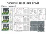 nanowire based logic circuit