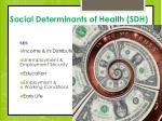 social determinants of health sdh1