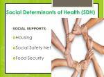 social determinants of health sdh2