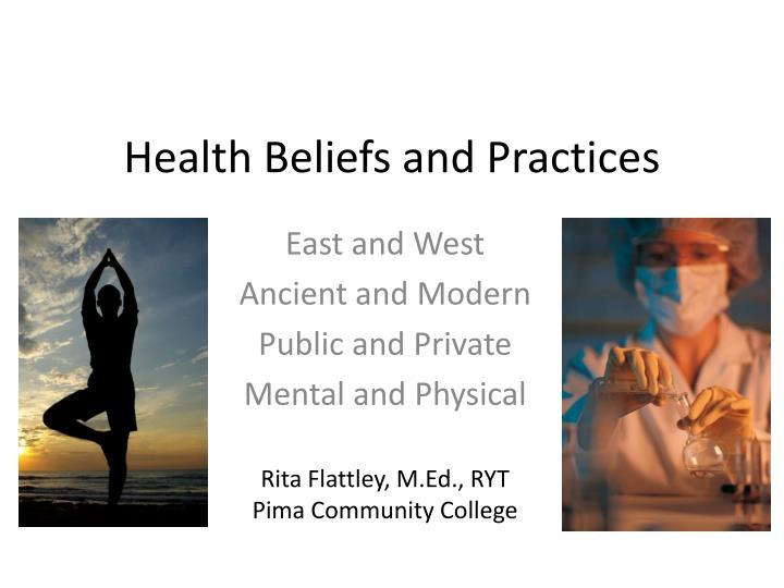 health beliefs and practices n.