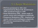 5 1 angle modulation