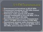 5 9 fm transmissions