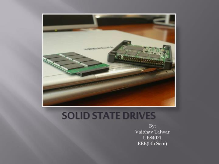 solid state drives n.