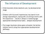 the influence of development