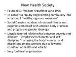 new health society