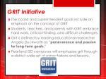 grit initiative
