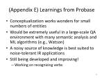 appendix e learnings from probase