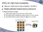 ercs for high data availability2