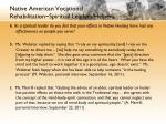 native american vocational rehabilitation spiritual leaders helpers12