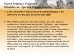 native american vocational rehabilitation spiritual leaders helpers2