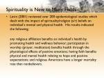spirituality is new to many fields2