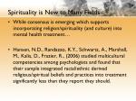 spirituality is new to many fields3