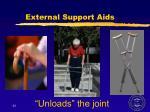 external support aids