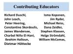contributing educators1