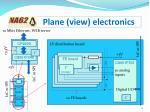 plane view electronics
