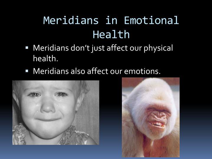 Meridians in Emotional Health
