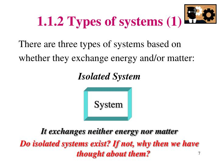 1.1.2 Types of systems (1)